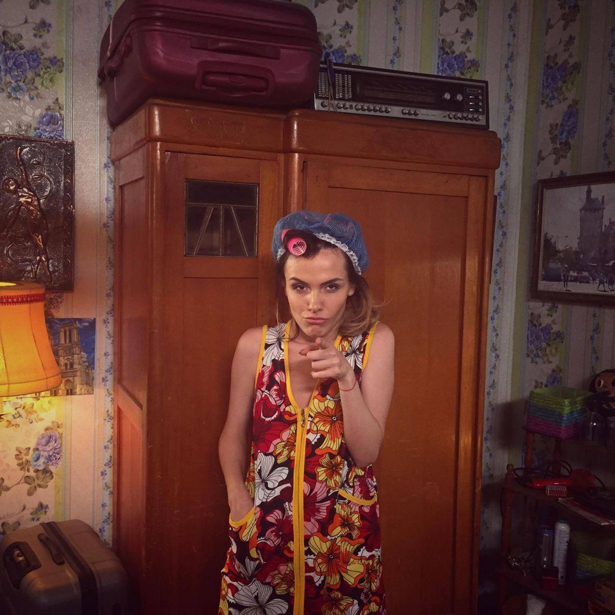 Экс-Эрика сыграла главную роль в украинском сериале