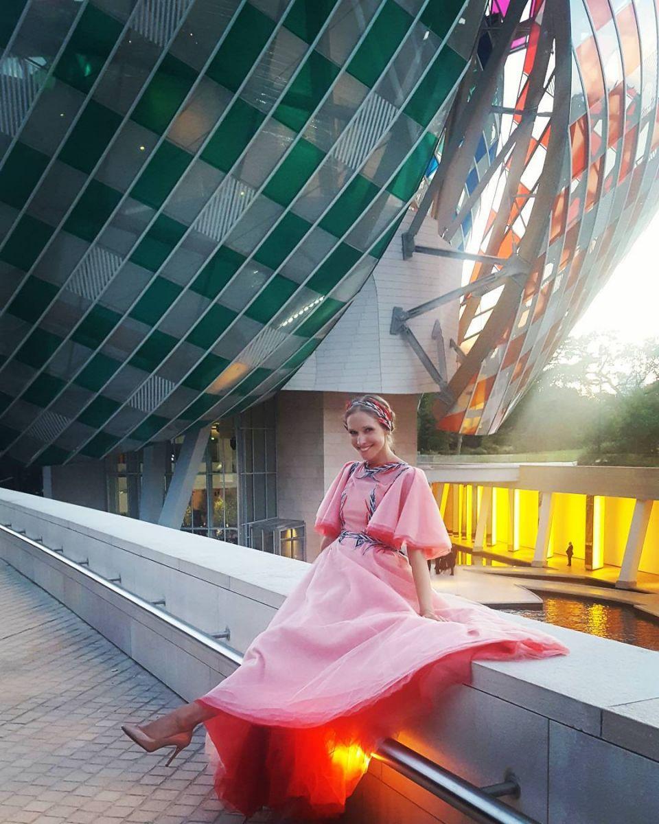 У Кати Осадчей украли в Париже дизайнерское платье