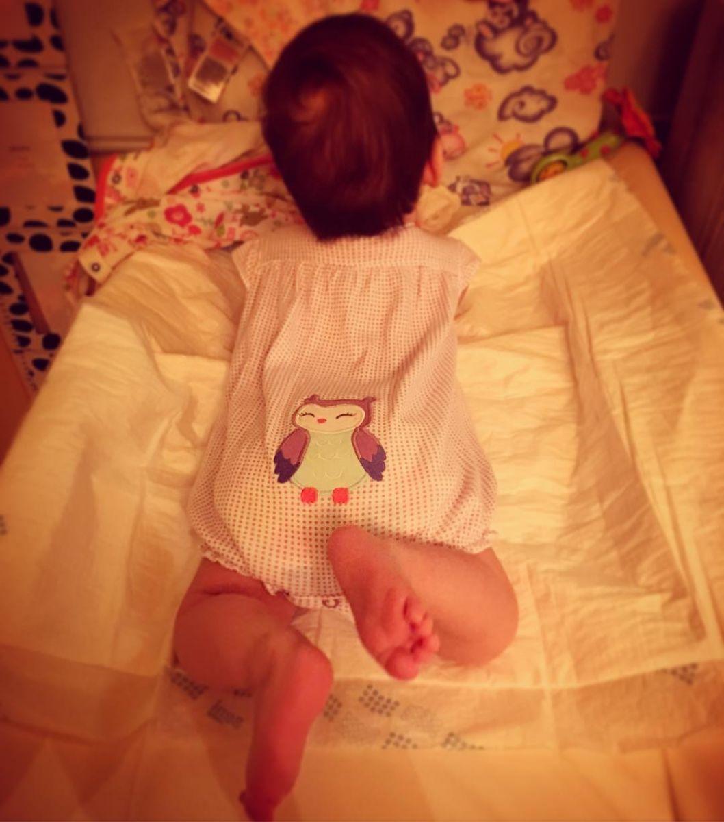 Ангелина Завальская впервые показала свою маленькую дочь