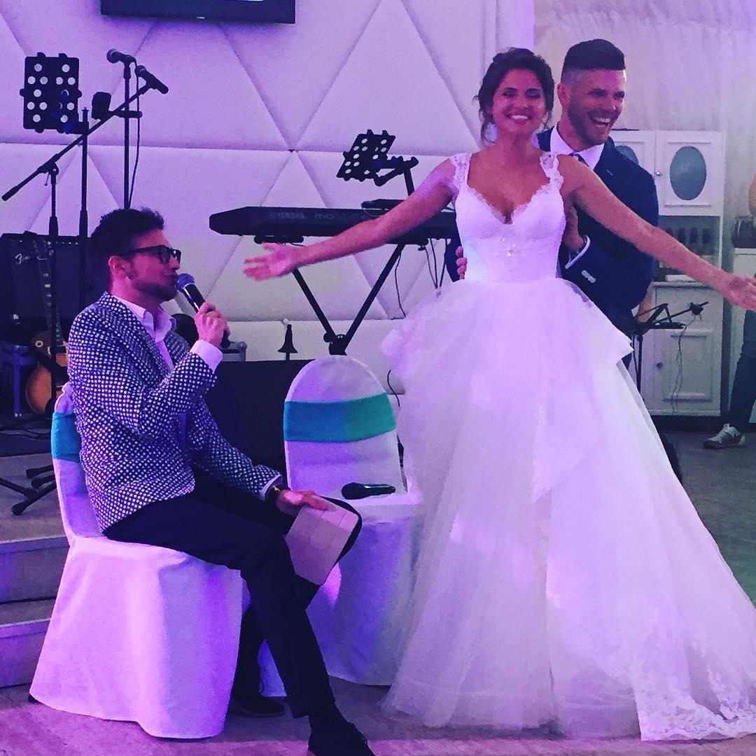 Юлия Топольницкая вышла замуж