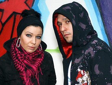Елка и ее муж Сергей Астахов