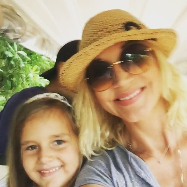 Кристина Орбакайте и ее дочь Клава
