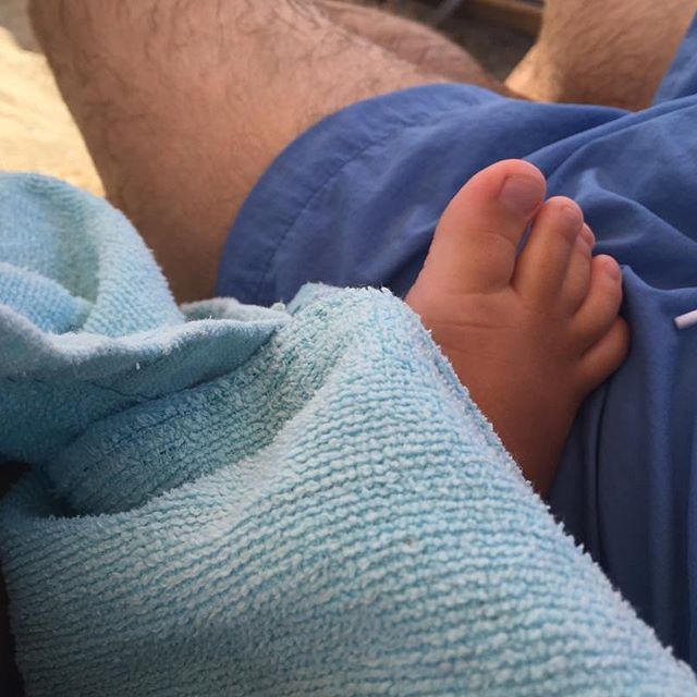 Дмитрий Шепелев наслаждается выходными вместе с трехлетним сыном