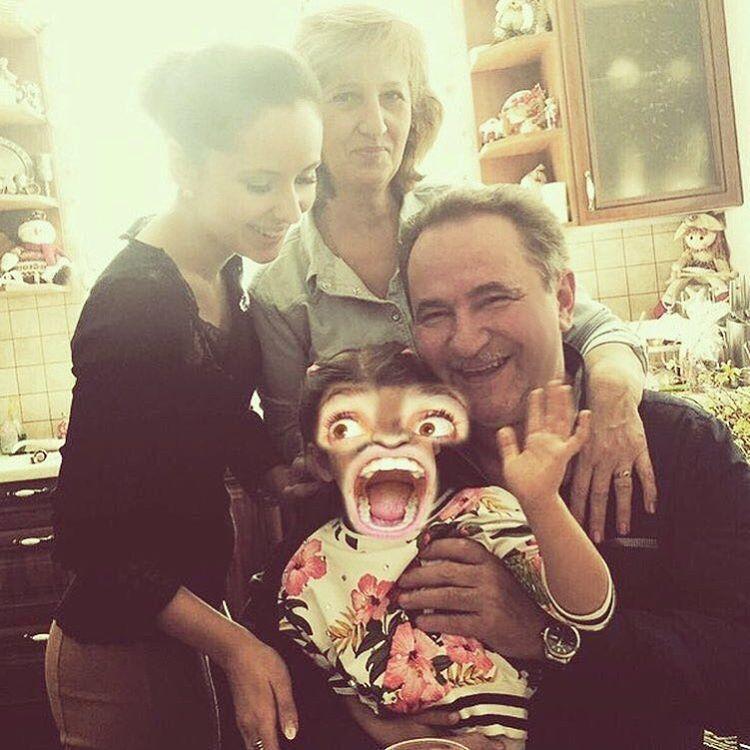 Loboda поделилась милой фотографией своих родителей