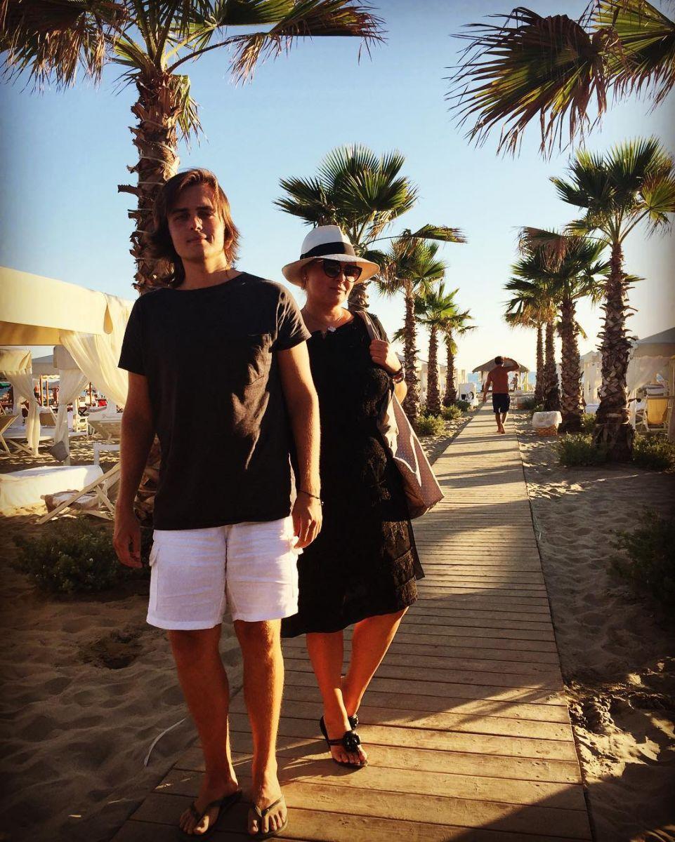 Семья Софии Ротару отдыхает в Италии