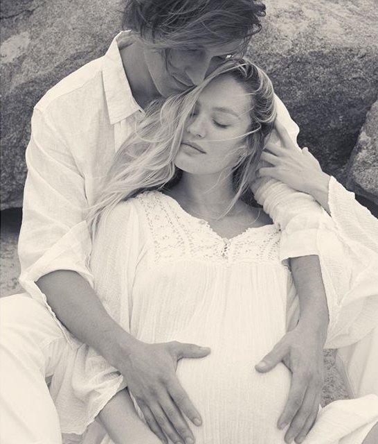 Кэндис Свейнпол поделилась нежным фото с супругом