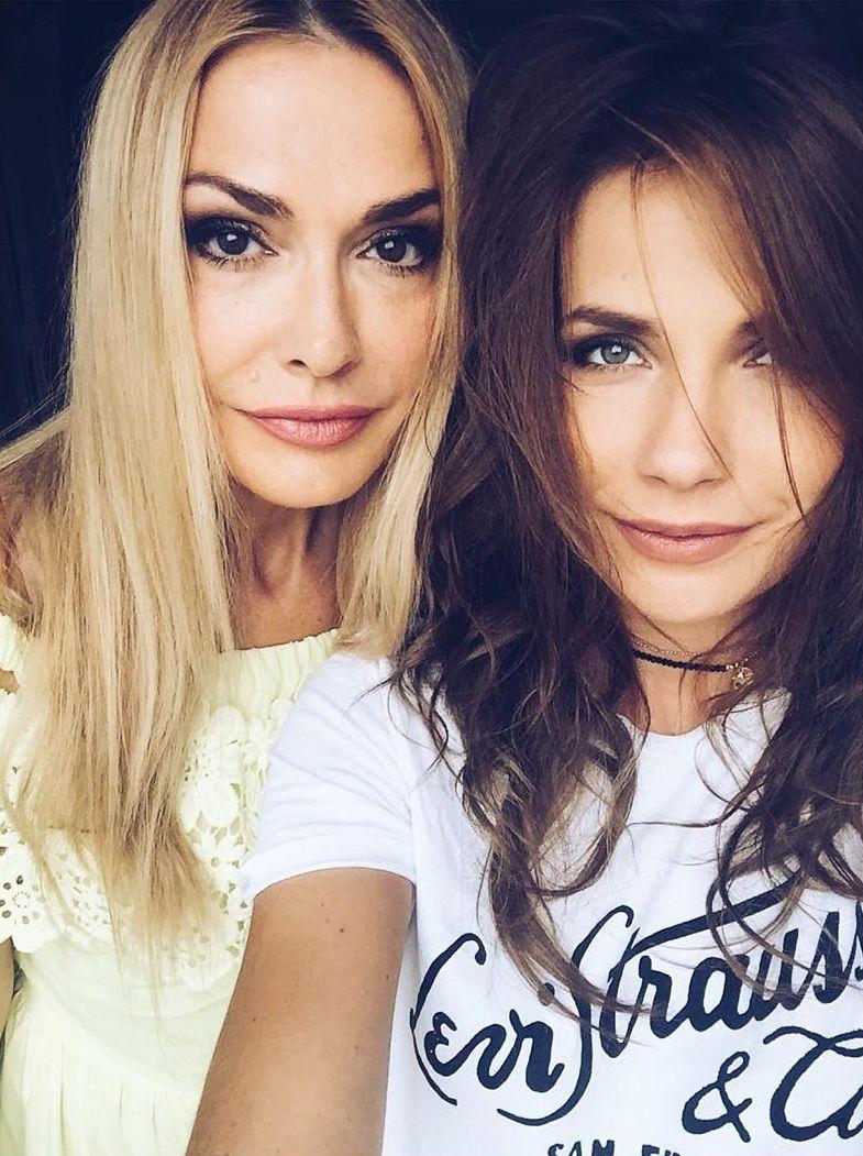 Ольга Сумская с дочерью Антониной