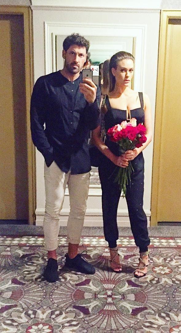 Максим Чмерковский засыпал сеть нежными снимками с беременной женой