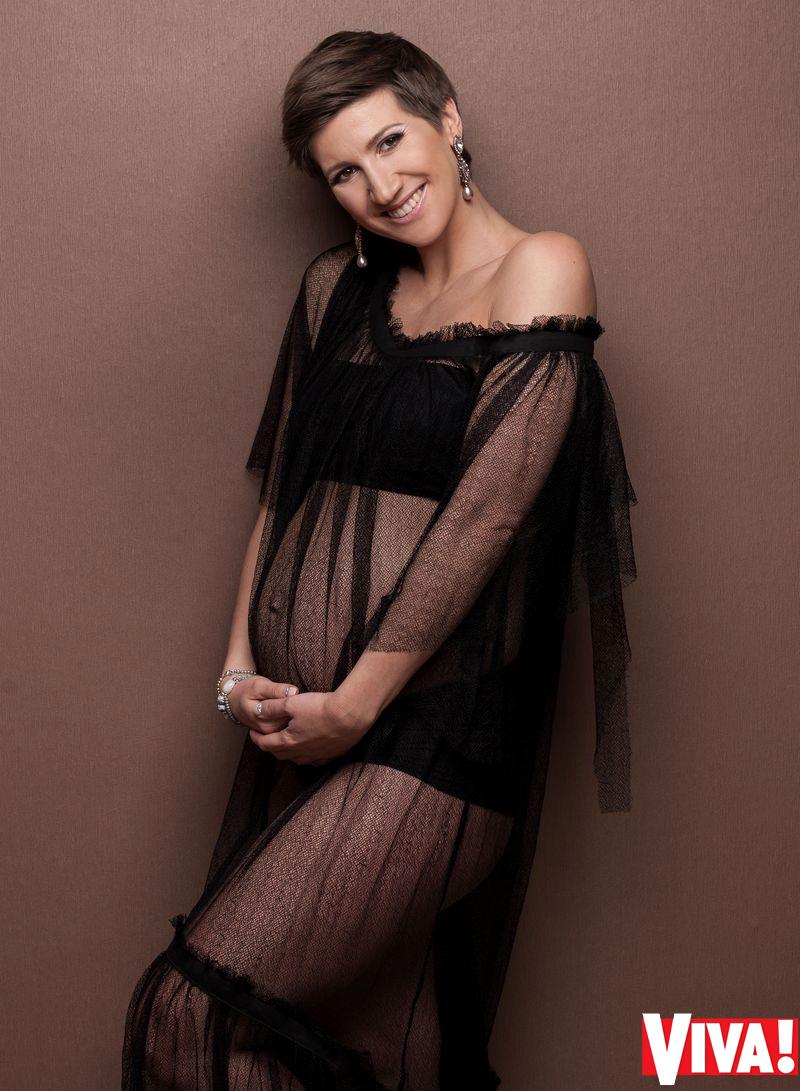 Анита Луценко беременная