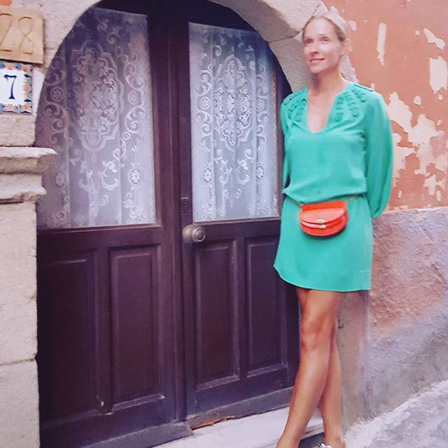 Катя Осадчая отправилась на отдых к морю