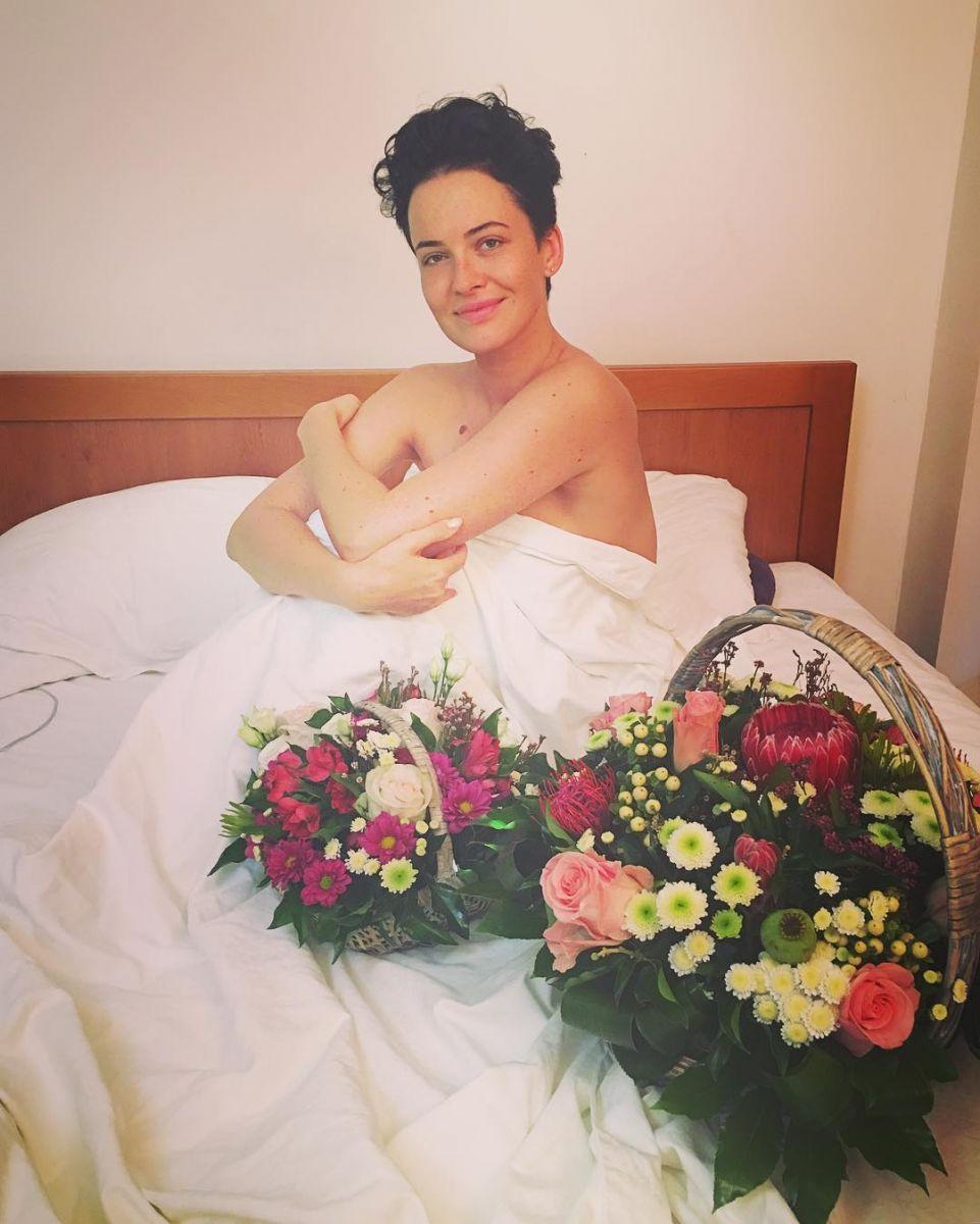 Даша Астафьева без макияжа