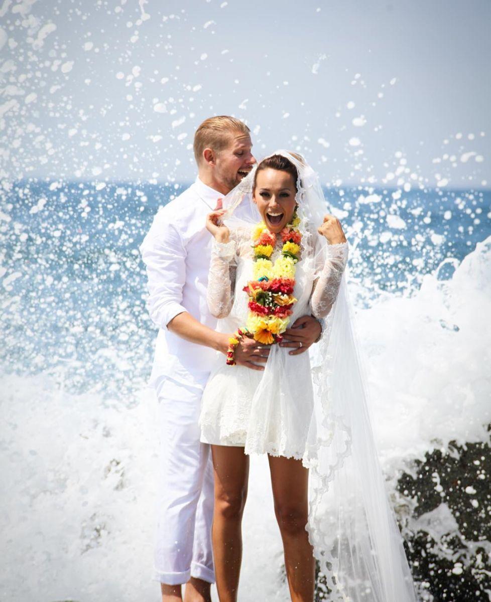 Юлия Бричковская устроила пышную свадьбу в Америке
