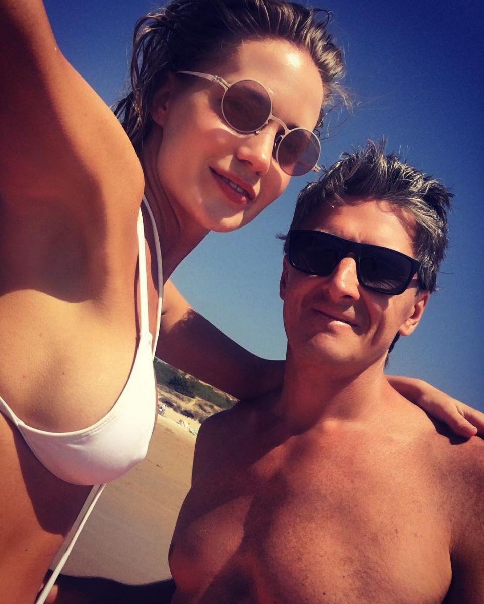 Певица Глюкоза и ее муж Александр Чистяков