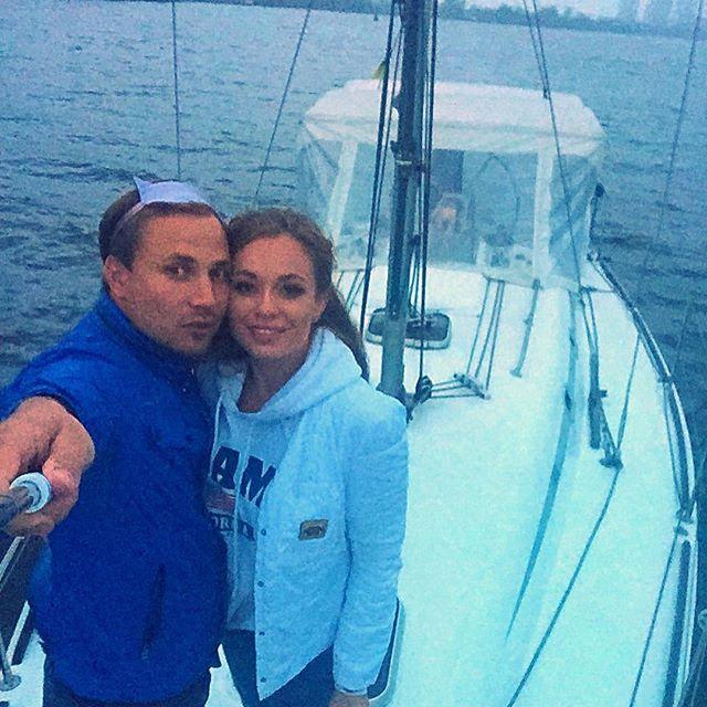 Яна Соломко трогательно поздравила мужа с днем рождения