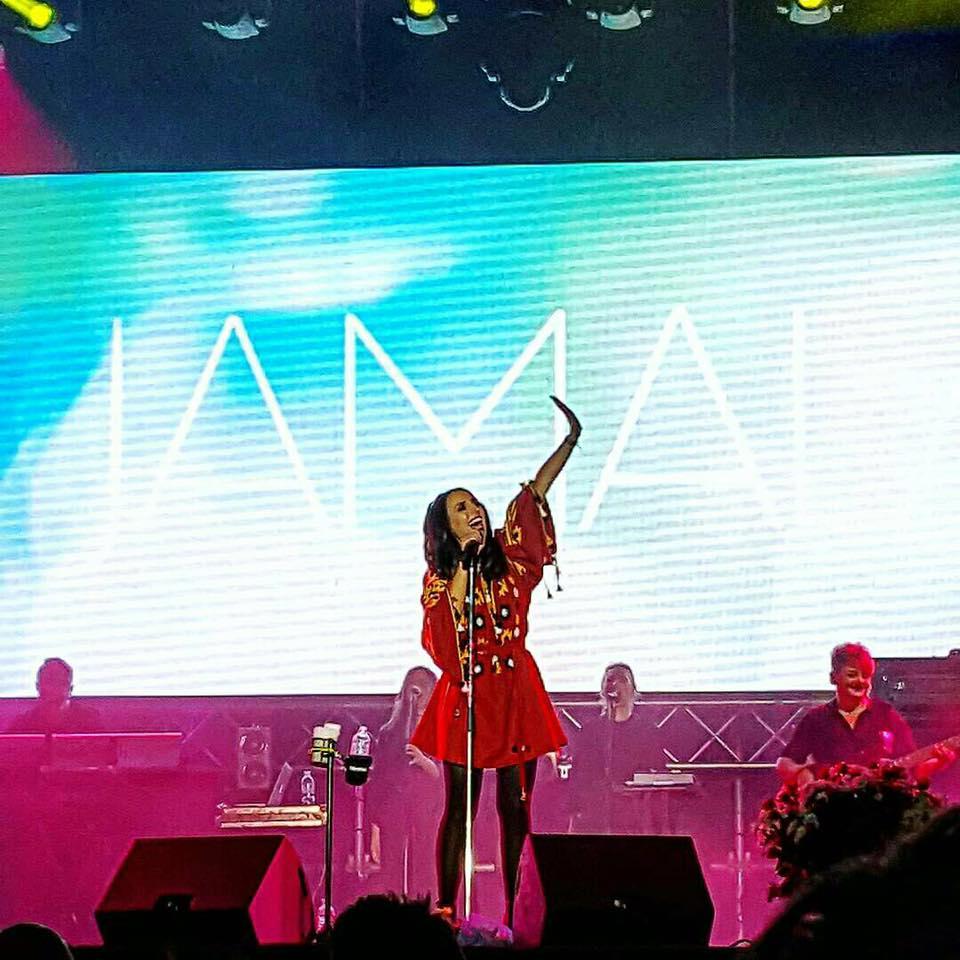 Джамала на концерте в Броварах