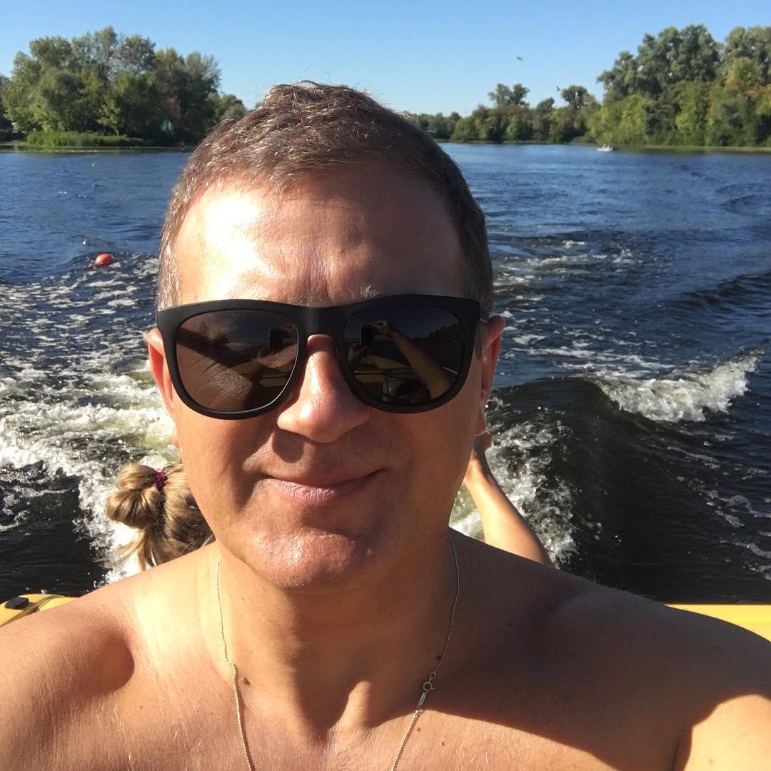 Катя Осадчая и Юрий Горбунов провели выходные вместе