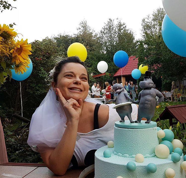 Наташа Королева и Тарзан пышно отметили годовщину свадьбы