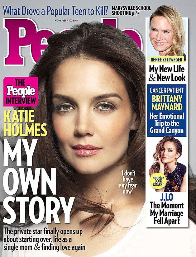 Откровенное интервью Кэти Холмс