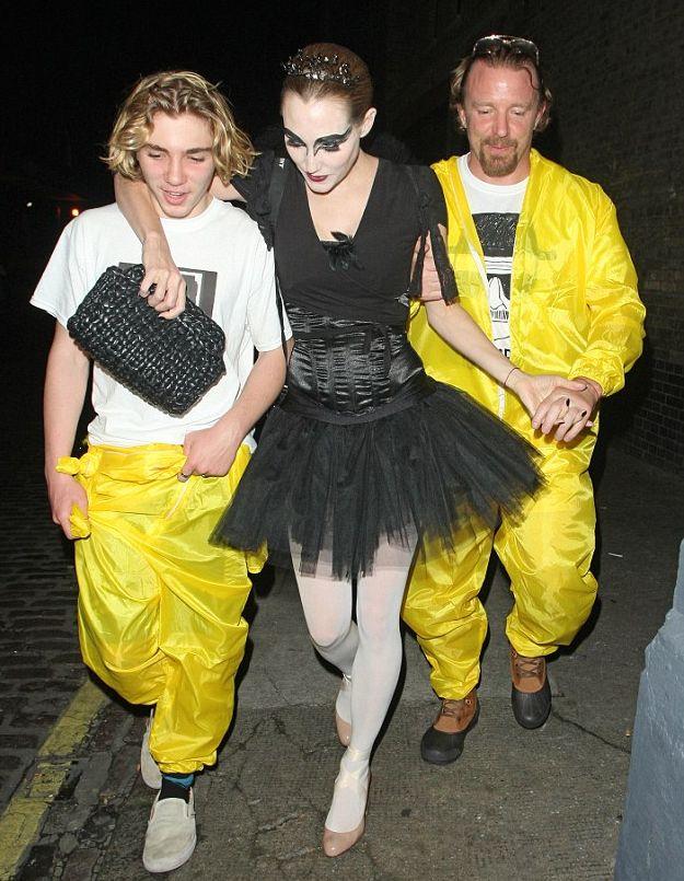 Гай Ричи вышел в свет с подросшим сыном Мадонны