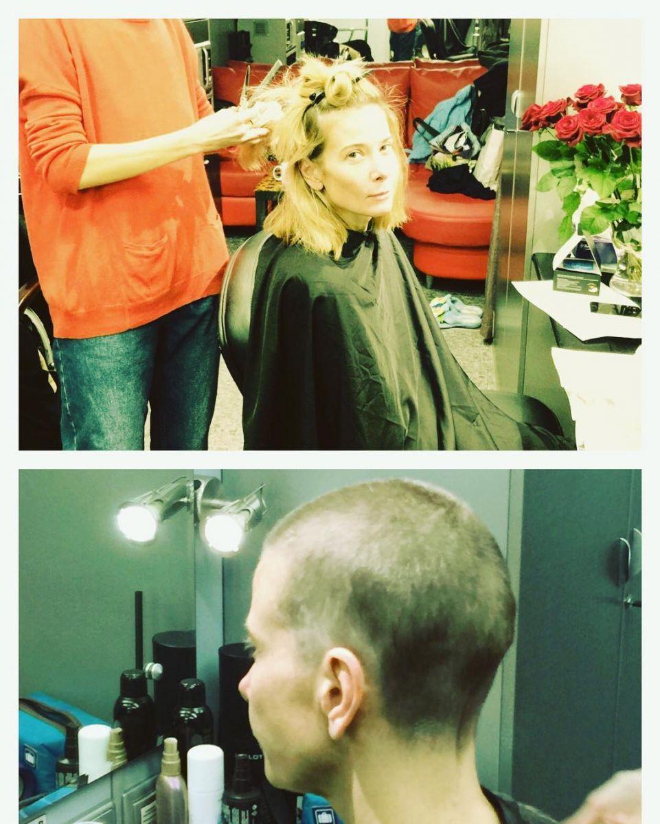 Юлия Высоцкая показала, как распрощалась со своими длинными волосами