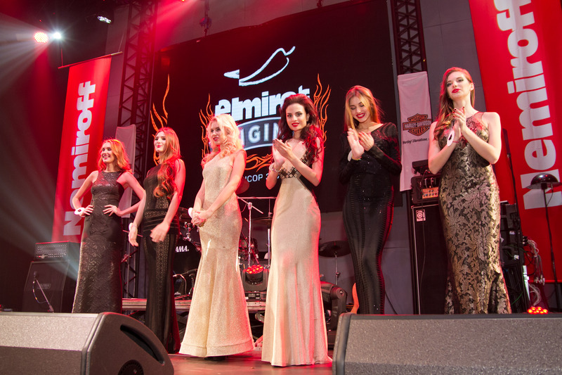 Финалистки конкурса Мисс Harley-Davidson-2014