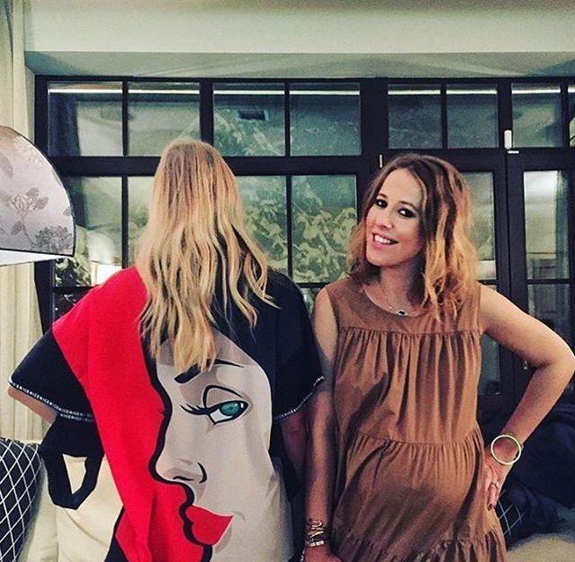 Ксения Собчак впервые стала мамой!