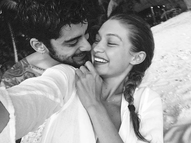 Счастливы вместе: бойфренд Джиджи Хадид поделился трогательным фото с любимой