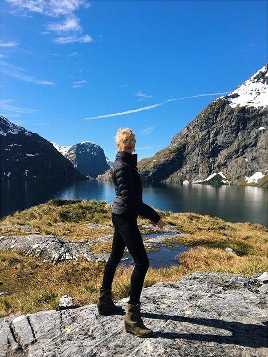 Покоряя вершины: Роузи Хантингтон-Уайтли и Джейсон Стэтхэм путешествую по Новой Зеландии