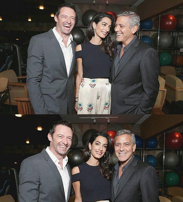 Влюбленные Джордж и Амаль Клуни блистают на гала-вечере в Лос-Анджелесе