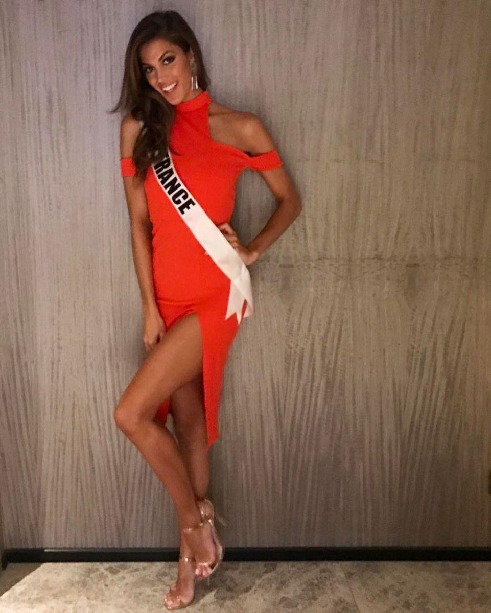 Мисс вселенная 2016 Ирис Миттенар (Франция)