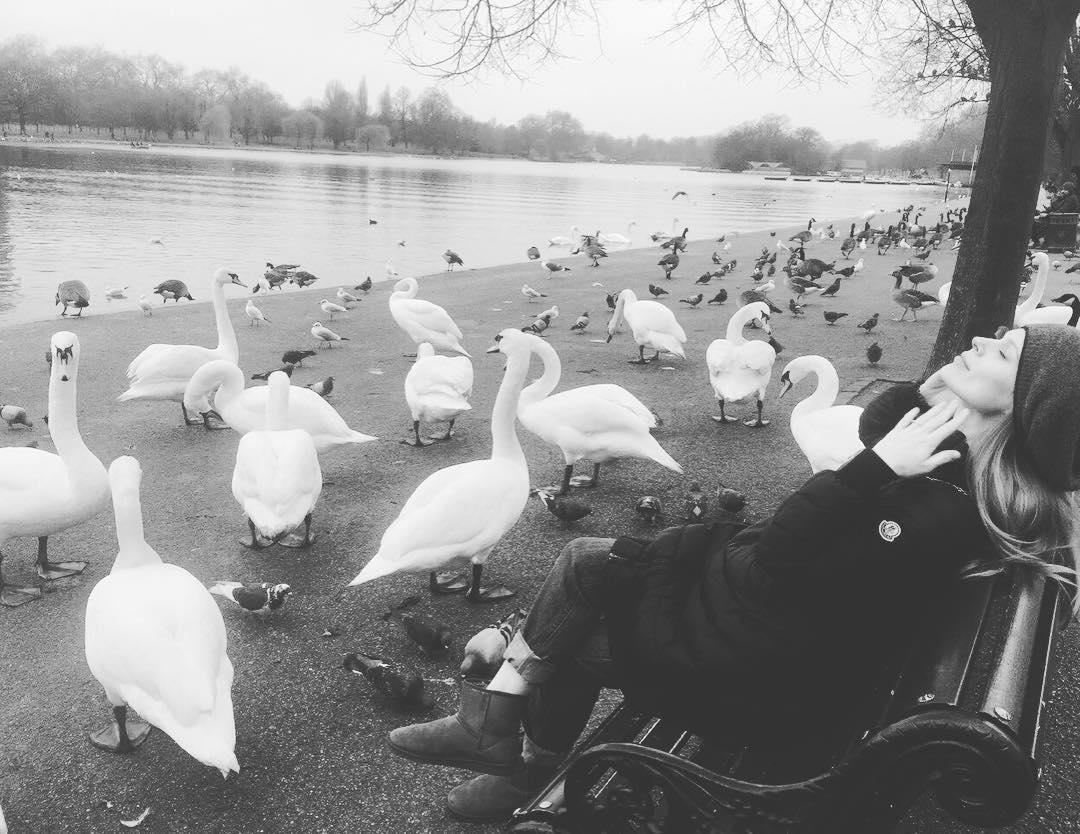 З Лондона з любов'ю: Ольга Фреймут насолоджується сімейним відпочинком в Англії