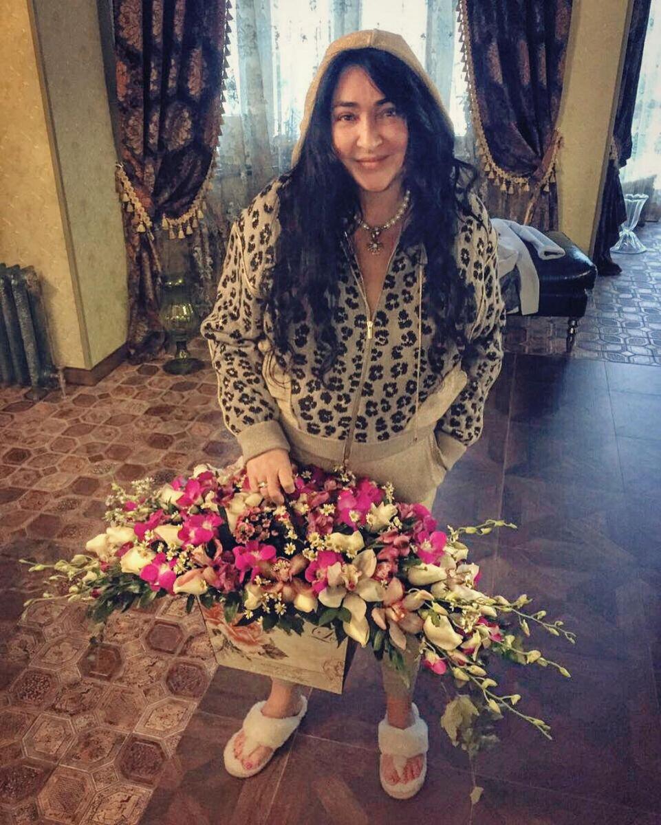 Лолита получила роскошный подарок от любимого мужа в свой день рождения