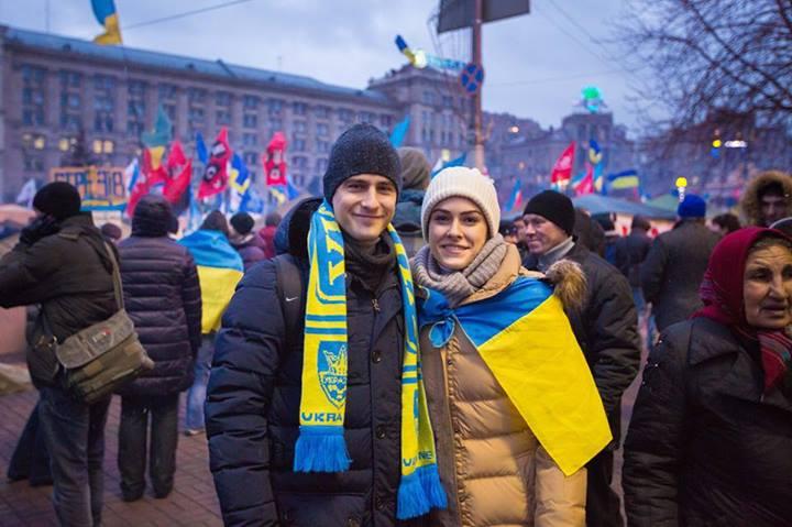 Маша Собко муж фото майдан