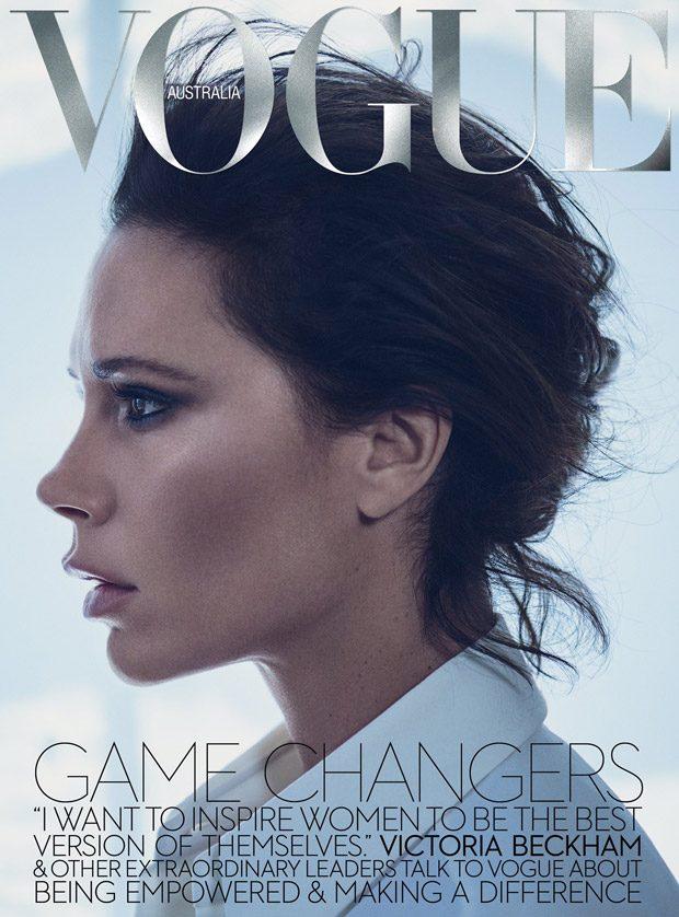 Королева глянца: Виктория Бекхэм вновь блистает на обложке Vogue