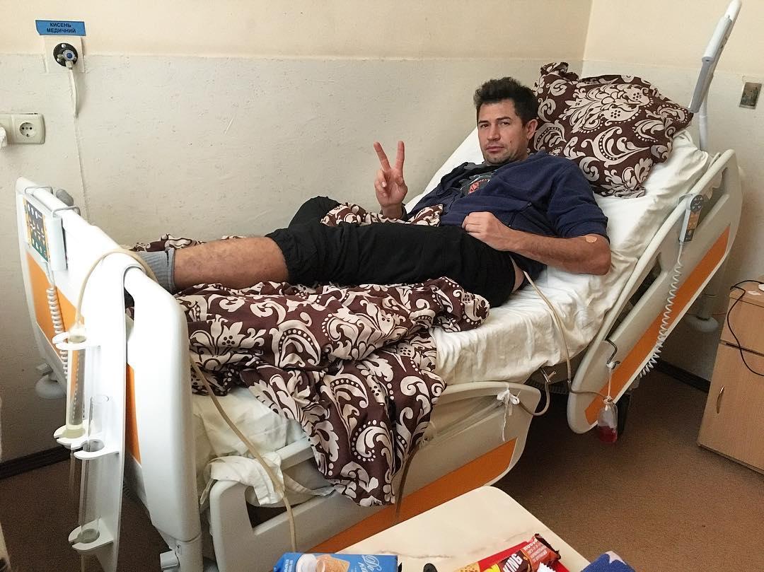 Андрею Джеджуле сделали срочную операцию