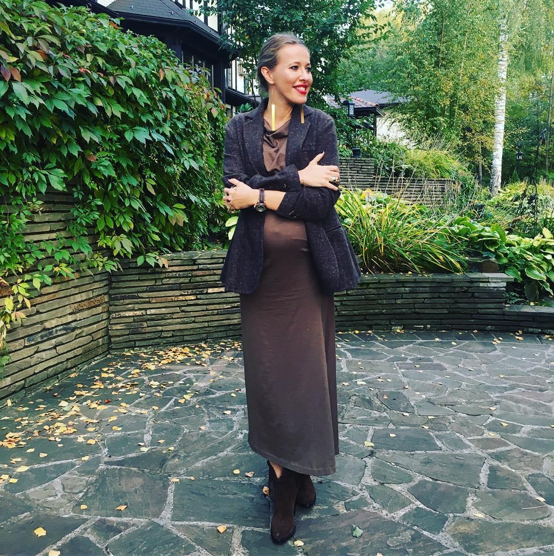 Ксения Собчак родила первенца
