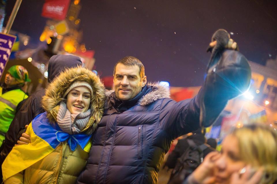 Маша Собко папа фото майдан