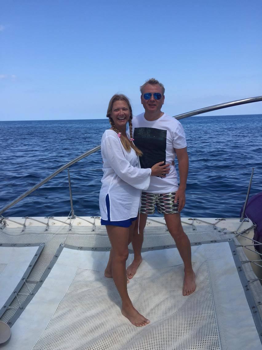 "Судья шоу ""МастерШеф"" Татьяна Литвинова и ее муж отдохнули на Маврикии"