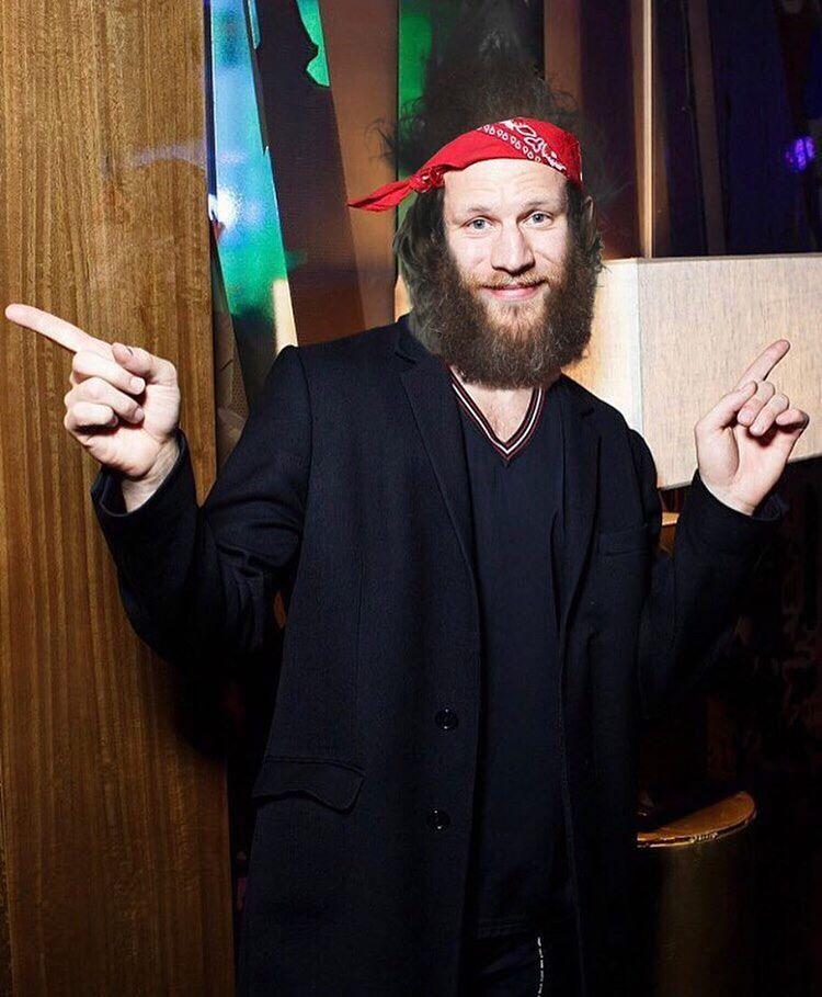 Не узнать: Иван Дорн в Америке отрастил длинную бороду