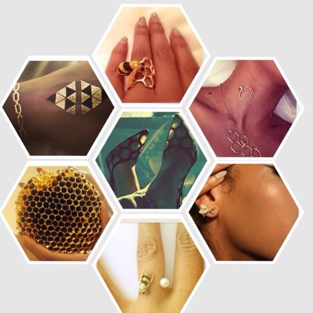 Пчелиные богатства: Бейонсе показала любимые украшения