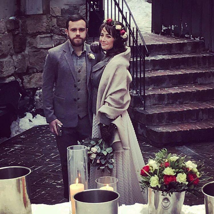 Даша Малахова вышла замуж: первое свадебное фото