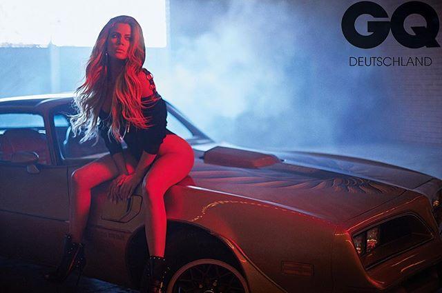 Хлое Кардашьян в сексуальном боди снялась в откровенной фотосессии для мужского журнала