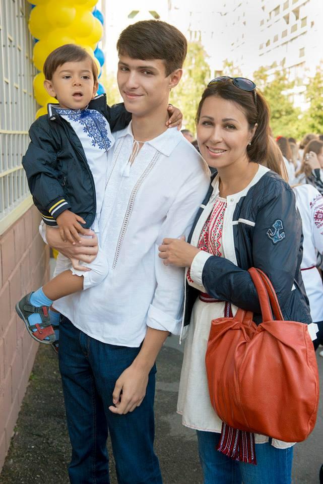 Наталья Мосейчук и ее дети