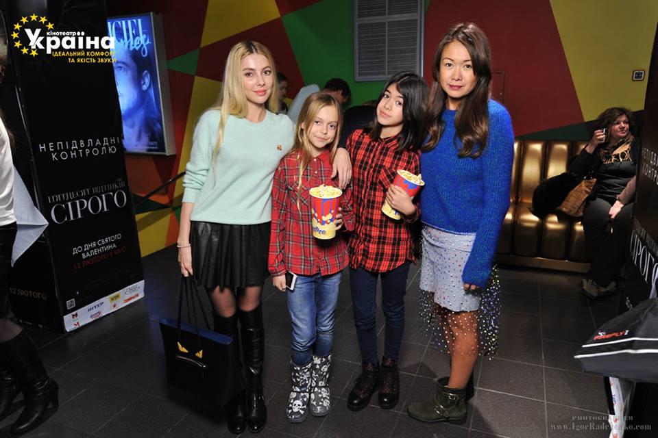Лида Петрова с дочерью Эмили и подругой