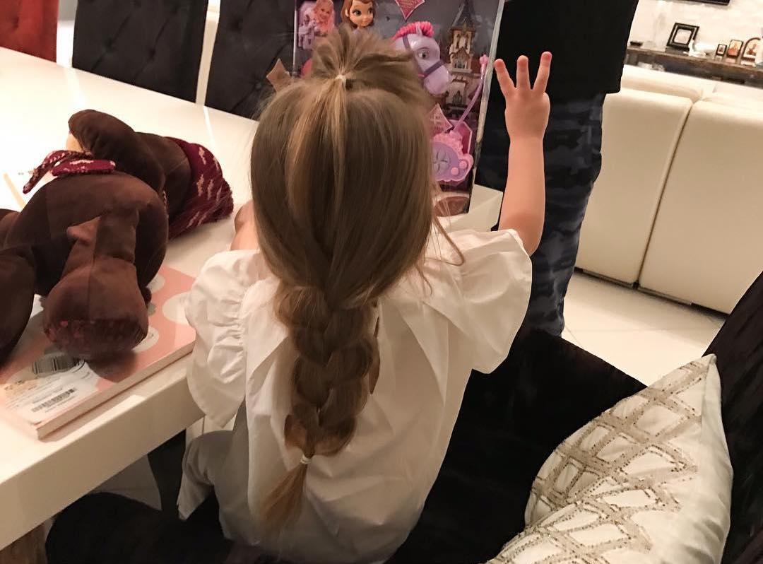 кристина асмус и ее дочь фото дочери ребенку