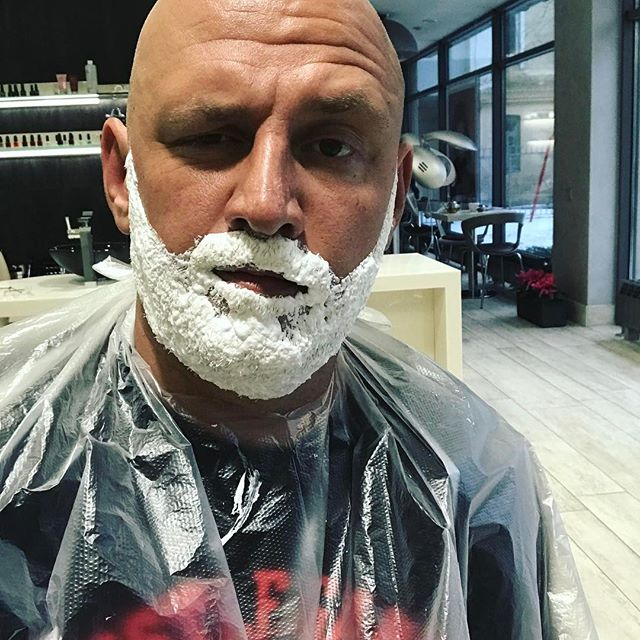 Поседел: Потап блеснул совершенно белой бородой