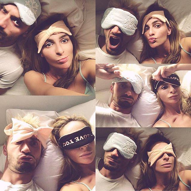 Личные кадры: Катя Варнава позирует в постели с любимым мужчиной