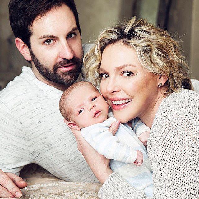 Кэтрин Хейгл показала первые фото новорожденного сына
