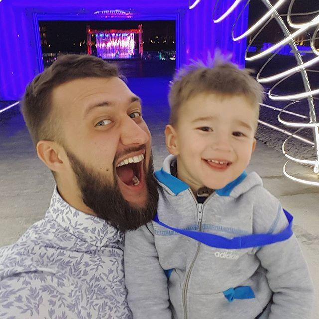 Тамерлан и Алена Омаргалиева показали своего подросшего сына