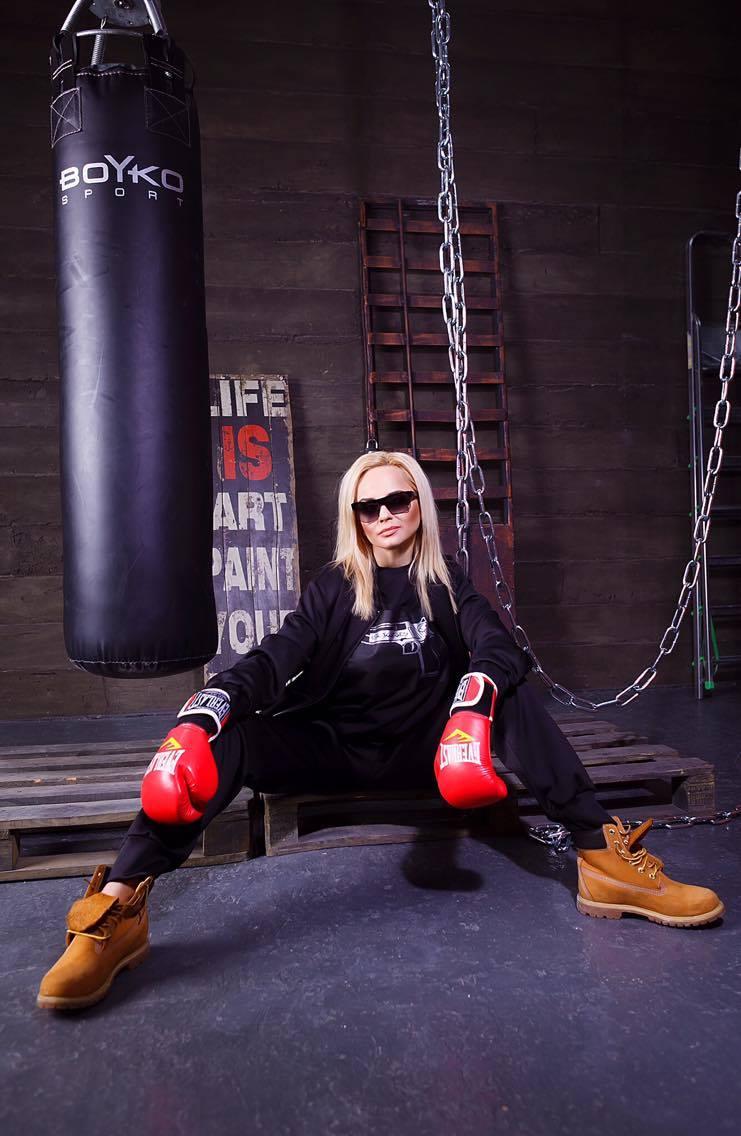 Первая фотосессия Лилии Ребрик после ухода с СТБ